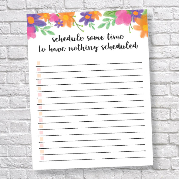 Printable Daily To-Do List