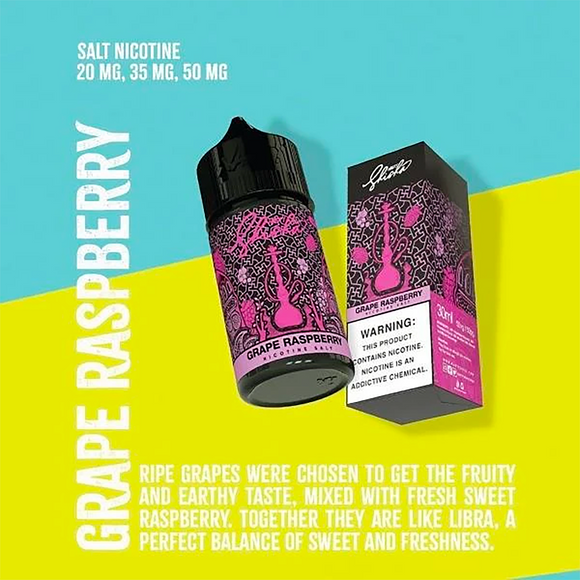 Shisha Grape Raspberry [SaltNic]