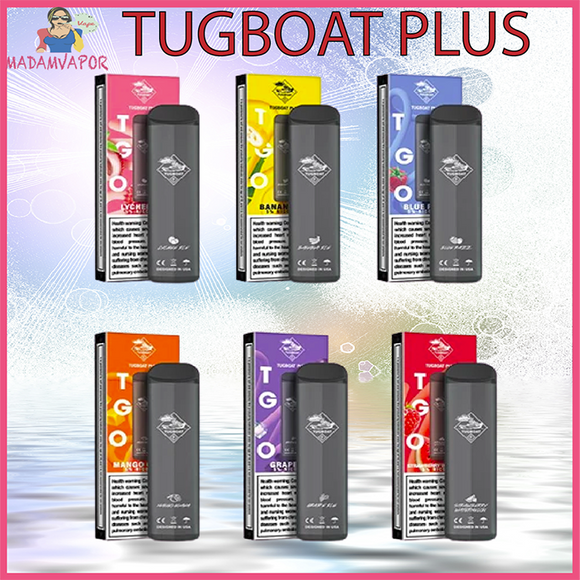 Tugboat Plus Disposable Pod 600 puffs [1 Pod]