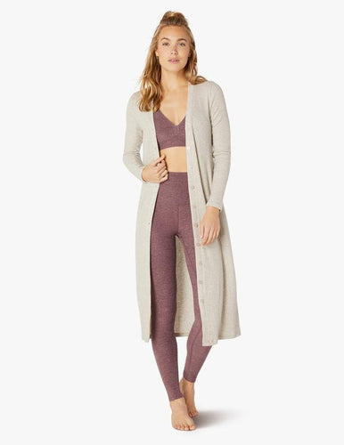 Empire maternity legging-deep blush