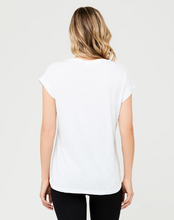 Load image into Gallery viewer, Richie Nursing Tee-White