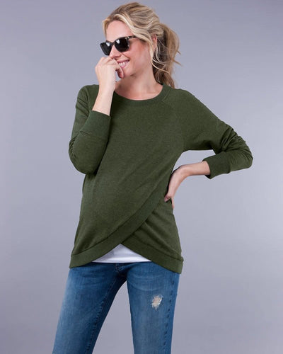 Sybil Sweater-olive