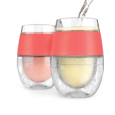 Double Wall Wine Freeze Cooling Cup