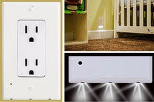 Load image into Gallery viewer, LED Night Light Outlet Cover
