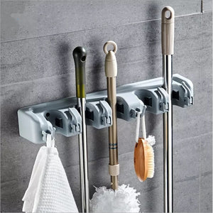 Heavy Duty Broom and Mop Holder