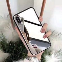 Load image into Gallery viewer, Beauty Mirrored iPhone X Case