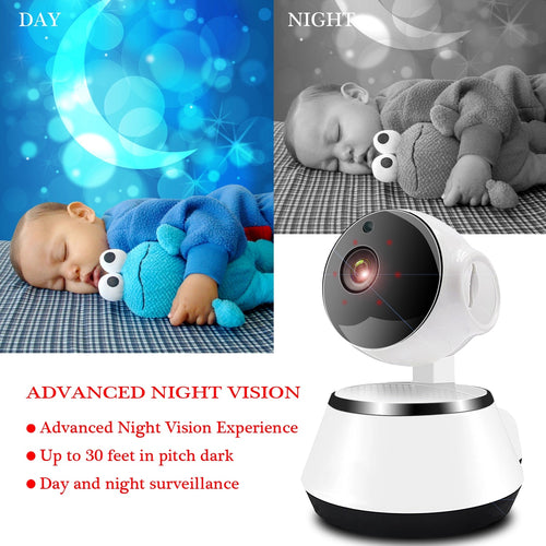 Mini WiFi Home Monitoring Camera