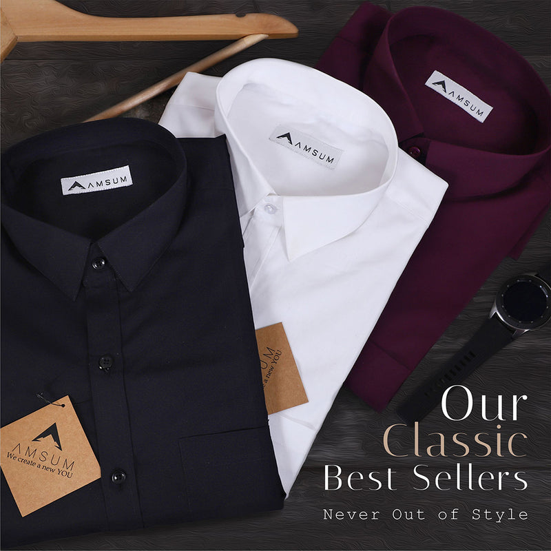 Premium Classic Shirts for Men that Always Step out in Style