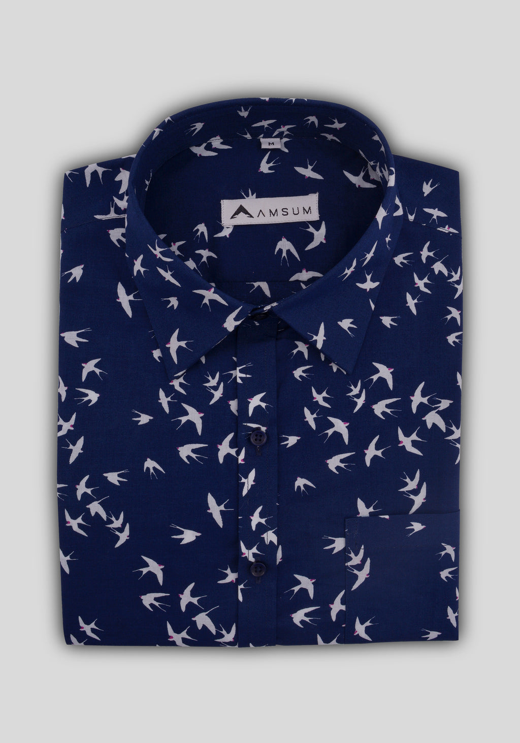 Blue Jay Shirt (Comfortable Slim Fit)