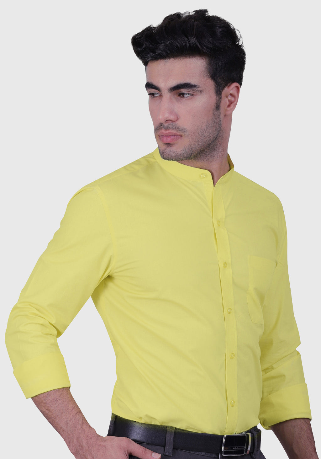 Bitter Lemon Shirt (Comfortable Slim Fit)