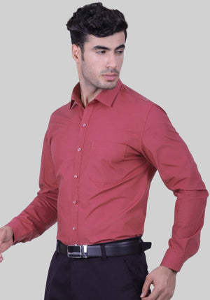 Wild Berry Pink Shirt (Comfortable Slim Fit)