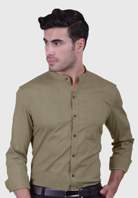 Brindle Fawn Shirt (Comfortable Slim Fit)
