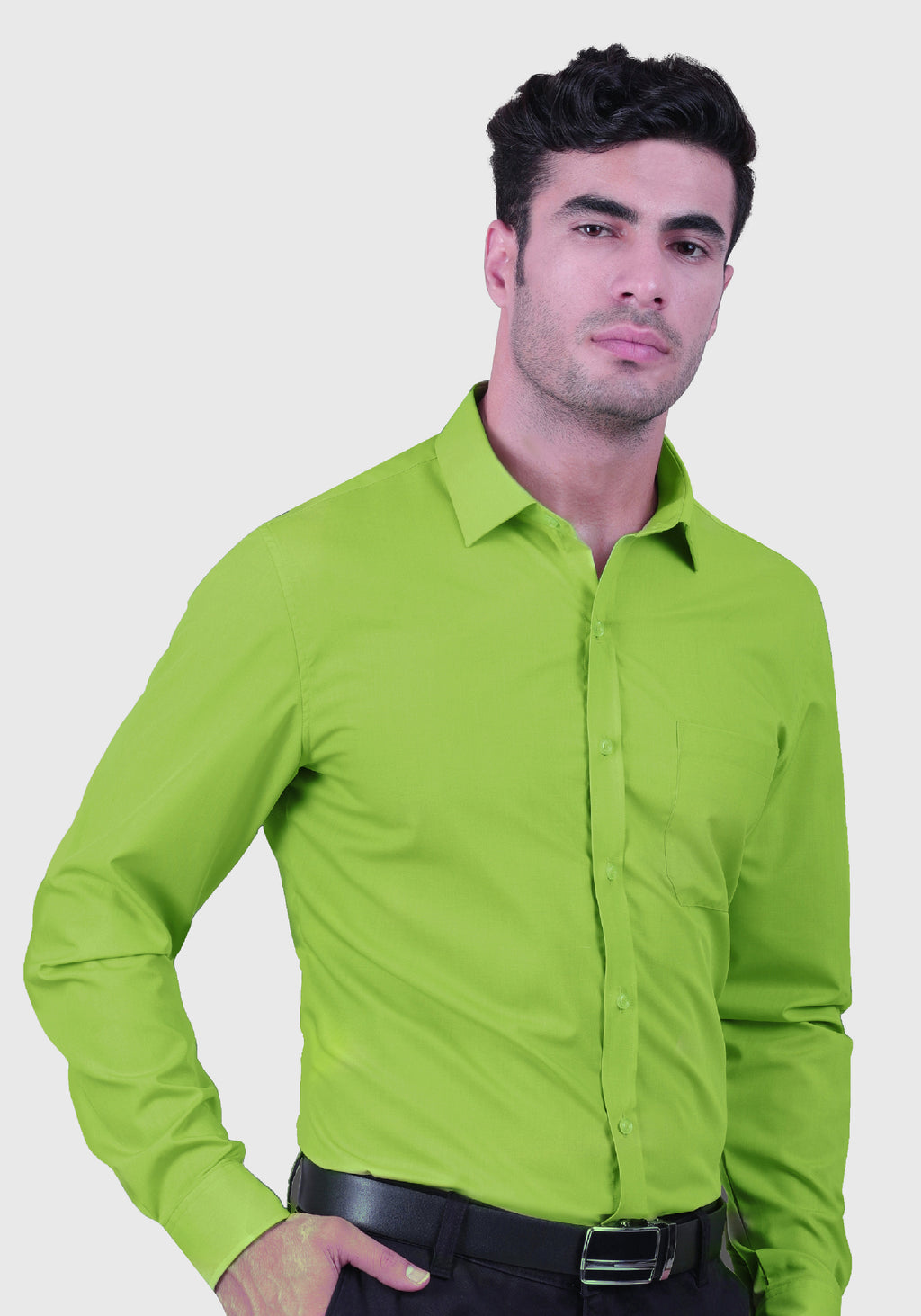 Grinchy Green Shirt (Comfortable Slim Fit)
