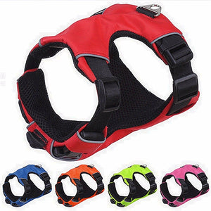 Reflective Adjustable Harness for Puppies and Dogs