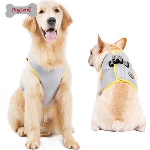 Doglemi Breathable Mesh Pet Cat Dog Harness Collars Puppy Cool