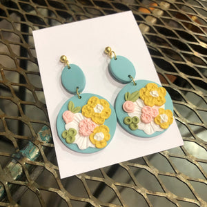 Handmade Ultra Clay Earrings
