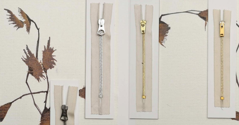 Ethicuette is using organic zippers, made of organic cotton and metals