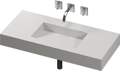 ARMONY 1 Single Sink Wash Basin