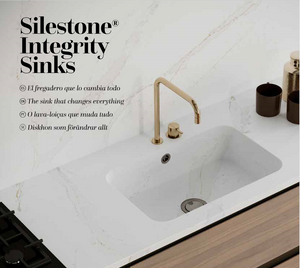 "Integrity Due-XL 26 3/8"" x 17 1/8"" Quartz Undermount Sink"