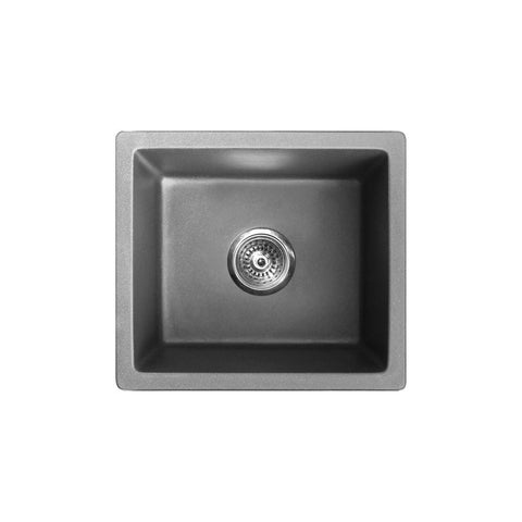 VERTU - T Single Bowl Granite Undermount Sink
