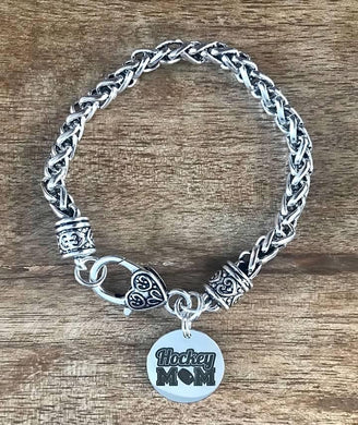 Hockey Mom Rope Bracelet - Jewelry