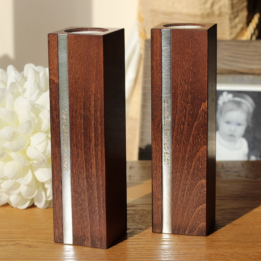 personalised candlesticks