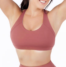 Load image into Gallery viewer, Perky Gal Bra - Burnt Red