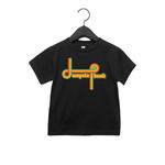 Kids Rainbow Tee 3T - BLACK
