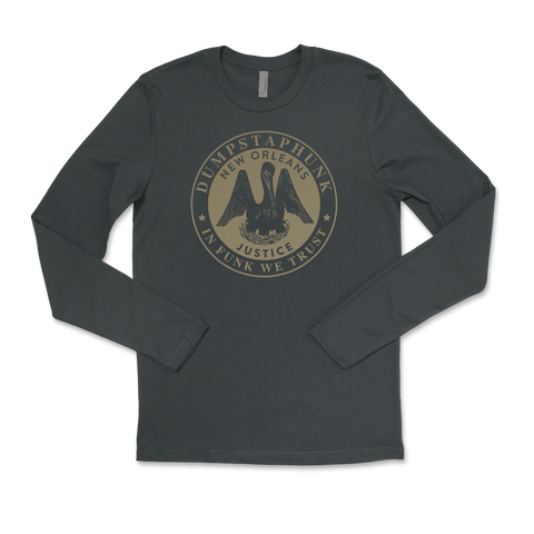 Justice Long Sleeve Tee - Gray