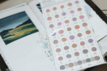 Load image into Gallery viewer, Kamio watercolor transparent dot shape sticker