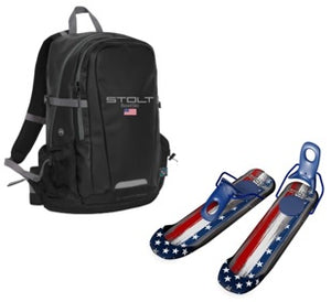 BootSki USA With Backpack