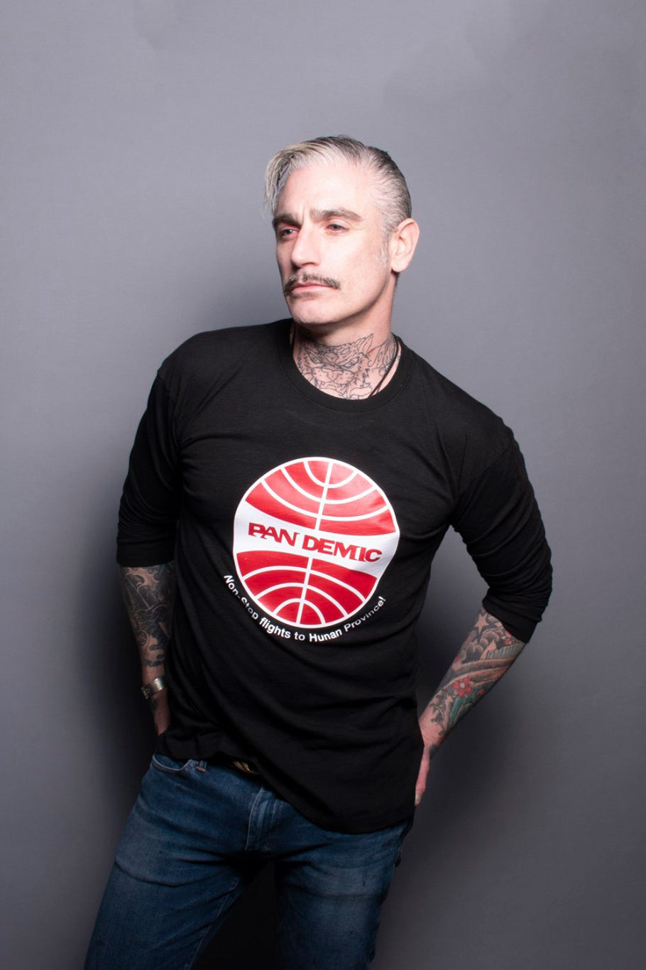 Pan Am Pandemic Statement Tee