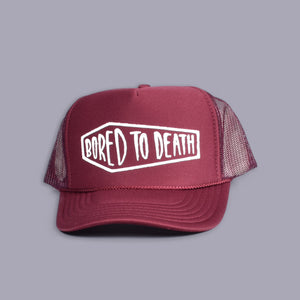 Bored To Death Trucker Hat