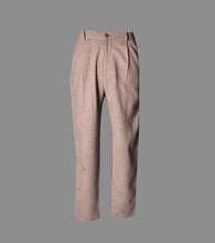 Load image into Gallery viewer, Arroyo Pant Pleat Front High Waisted Tapered Leg Trouser Made to Measure by Sheehan