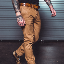 "Load image into Gallery viewer, KATO by Hiroshi Kato ""The Axe"" Slim 4-Way Stretch French Terry Chino"