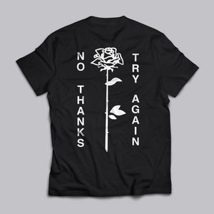 No Thanks Statement Tee