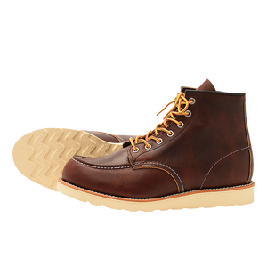 Red Wing Classic MOC Style NO. 8138 Briar Oil Slick Leather