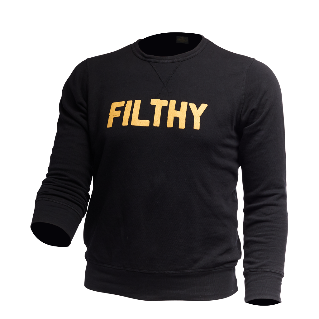 Filthy Statement Terrycloth Sweatshirt