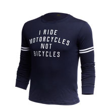 Load image into Gallery viewer, I Ride Motorcycles Long Sleeve Statement Tee