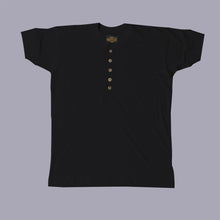 Load image into Gallery viewer, Short Sleeve Henley