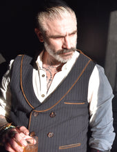Load image into Gallery viewer, Double Breasted Vest Waistcoat Made to Measure by Sheehan