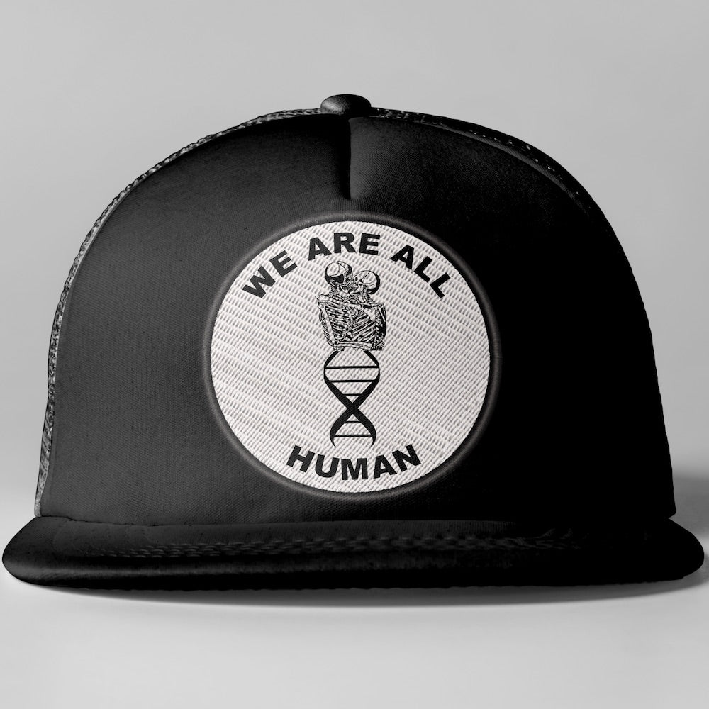 We Are All Human Trucker Hat for Pandemic Relief