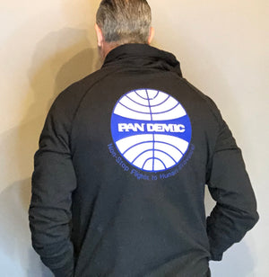Pandemic Airline Sweatshirt Statement Jacket Pandemic Relief