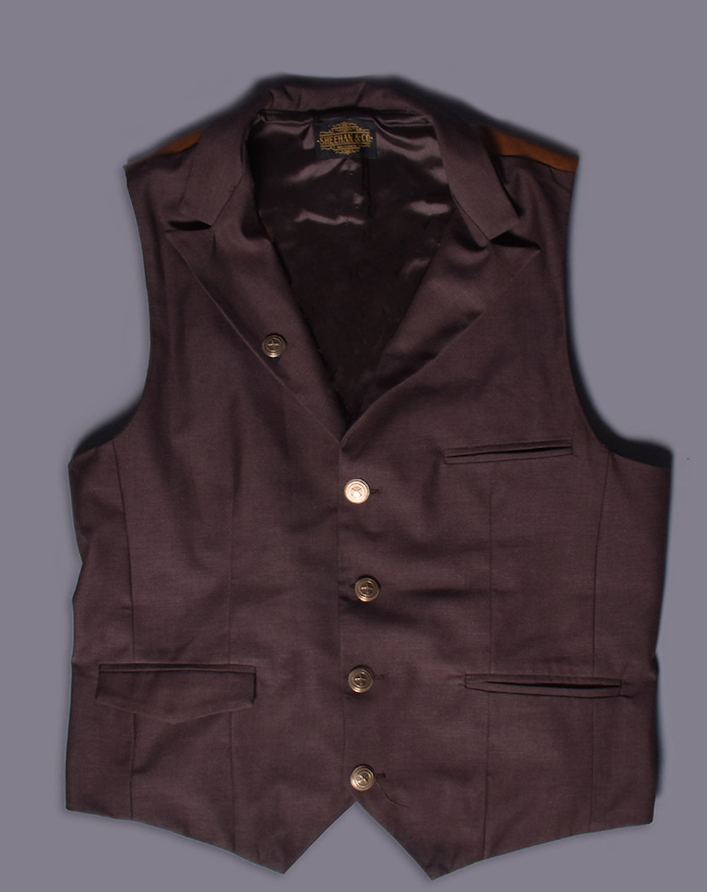 LapeL Vest Waistcoat Made to Measure by Sheehan