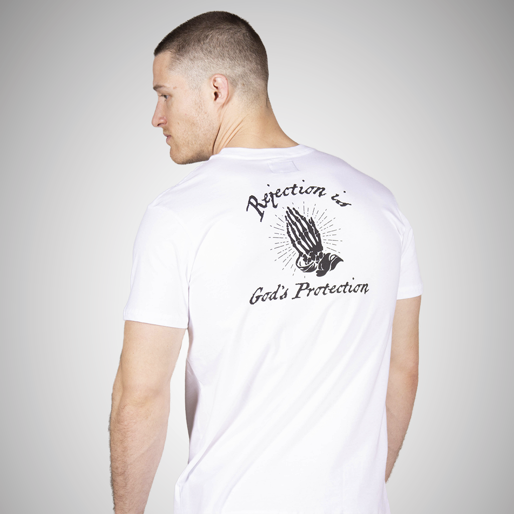 Rejection is God's Protection Short Sleeve Statement Tee