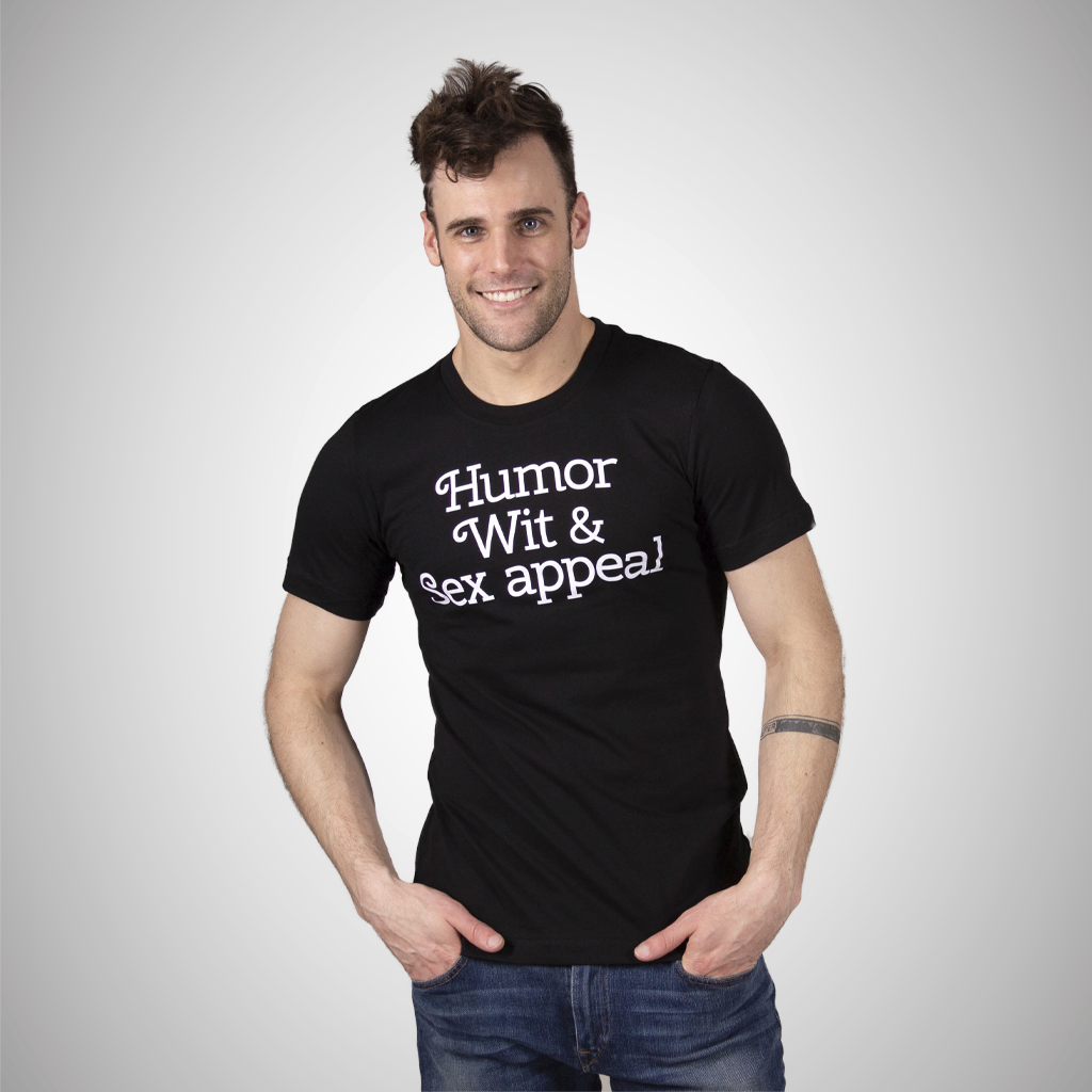 Humor, Wit & Sex Appeal Statement Tee