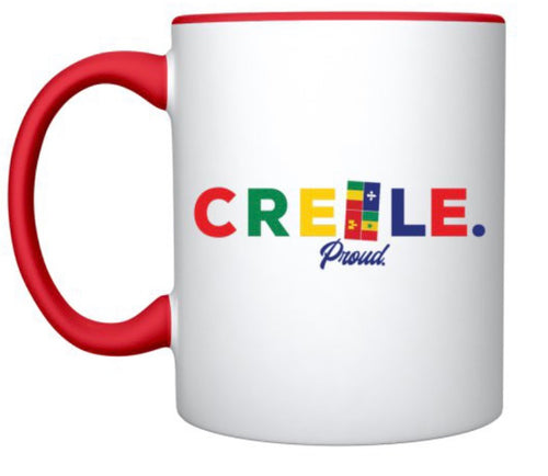 Creole Proud Coffee Mug / Red