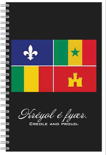 """Creole and Proud"" Notebook"