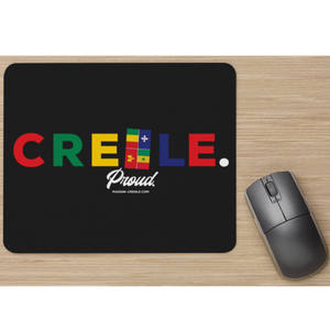 Creole. Proud. • Colorful Mouse Pad