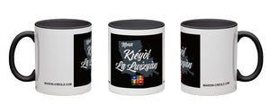 Louisiana-Creole Coffee Mug / Black